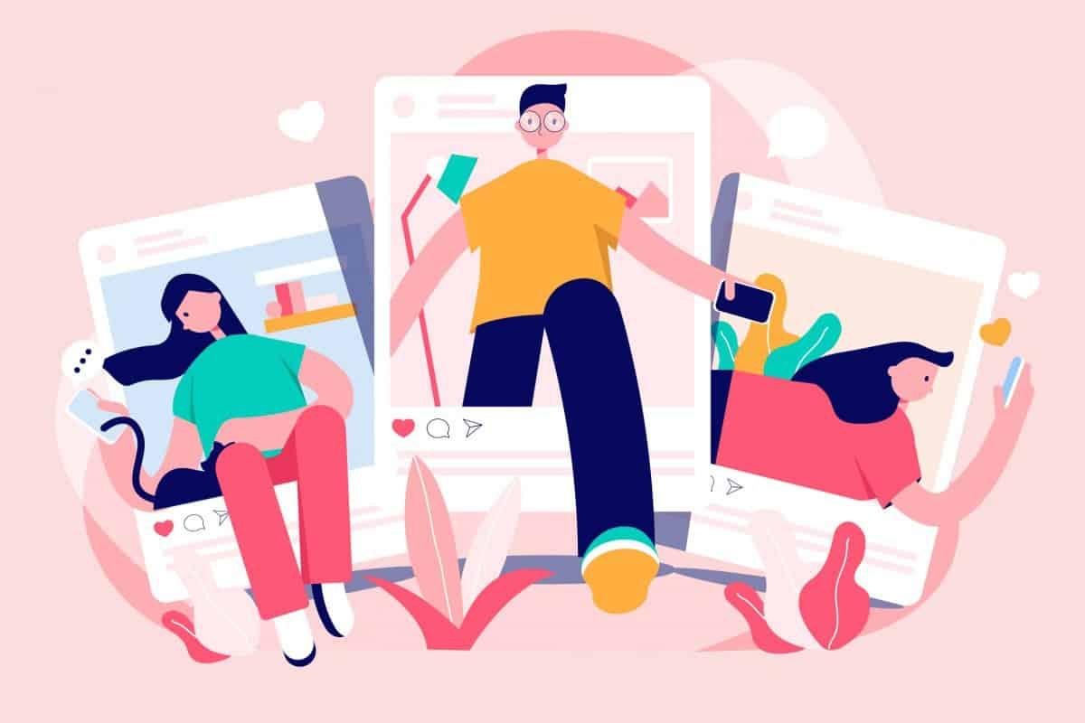 connection through social media