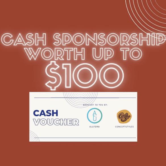 Apparel Cash Voucher Discount Promotion Deal Sponsorship